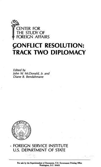 Conflict Resolution PDF