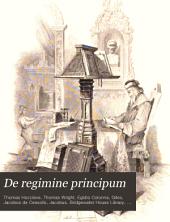 De Regimine Principum: A Poem