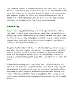 Final Fantasy VI Android Review
