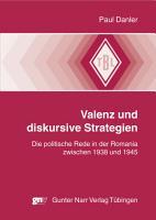 Valenz und diskursive Strategien PDF