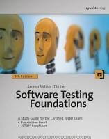 Software Testing Foundations PDF