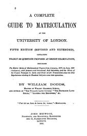 A Complete Guide to Matriculation at the University of London