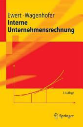 Interne Unternehmensrechnung: Ausgabe 7