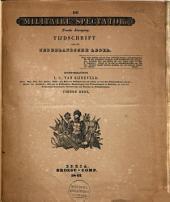Militaire spectator: tijdschrift voor het Nederlandsche leger, Volume 9