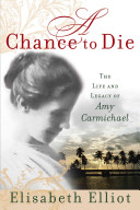 A Chance to Die Book