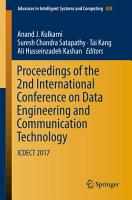 Proceedings of the 2nd International Conference on Data Engineering and Communication Technology PDF