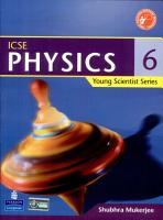 Young Scientist Series ICSE Physics 6 PDF