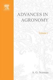 Advances in Agronomy: Volume 1
