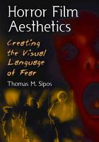 Horror Film Aesthetics PDF