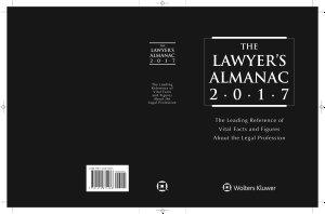 The Lawyer s Almanac 2017  IL  PDF