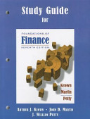 Study Guide for Foundations of Finance PDF