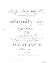 Protexisti me Deus: offertoire pour la chapelle royale de Naples