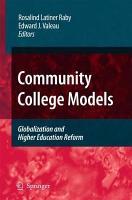 Community College Models PDF