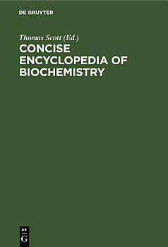 Concise encyclopedia of biochemistry PDF