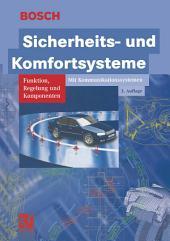 Sicherheits- und Komfortsysteme: Funktion, Regelung und Komponenten, Ausgabe 3