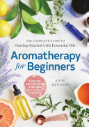 Aromatherapy for Beginners Book