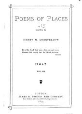Poems of Places: Italy