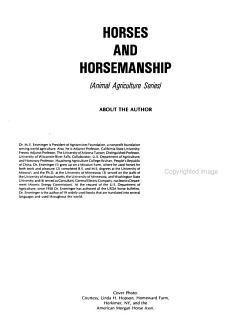 Horses and Horsemanship PDF