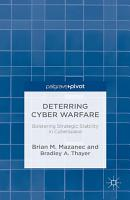Deterring Cyber Warfare PDF