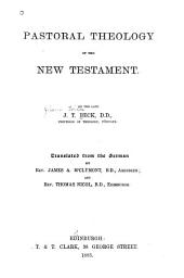 Pastoral Theology of the New Testament