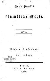 Jean Paul's sämmtliche werke: Bände 17-20