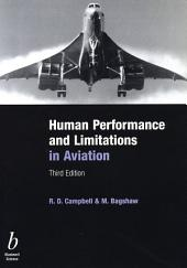 Human Performance and Limitations in Aviation: Edition 3