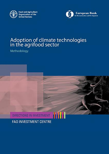 Adoption Of Climate Technologies In The Agrifood Sector