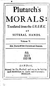 Plutarch's Morals, tr. by several hands