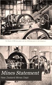 Mines Statement: Volume 1908