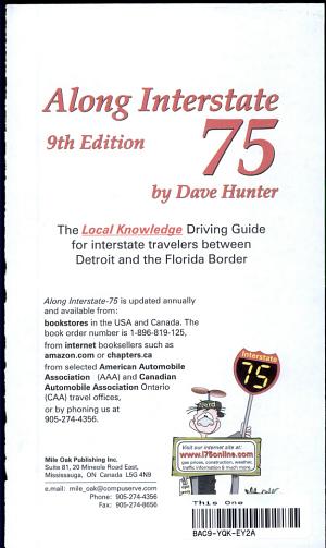 Along Interstate 75  2001 Edition