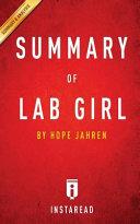Summary of Lab Girl PDF