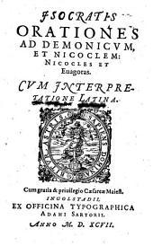 Orationes ad Demonicum et Nicoclem: Nicocles et Euagoras