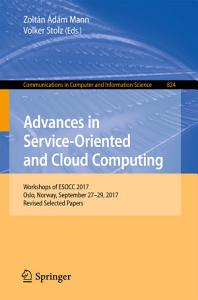 Advances in Service Oriented and Cloud Computing PDF
