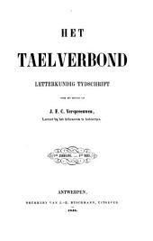 Het taelverbond: letterkundig tijdschrijft, Volumes 1-2
