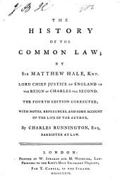 History of the Common Law: Volume 1