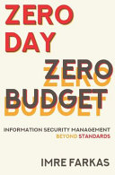 Zero Day   Zero Budget Book
