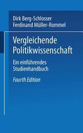 Vergleichende Politikwissenschaft: Ein einführendes Studienhandbuch, Ausgabe 4