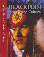 Blackfoot History and Culture PDF