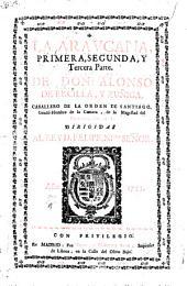 La Araucana: primera, segunda y tercera parte
