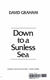 Down to a Sunless Sea PDF