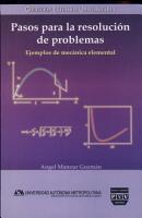 Pasos Para La Resolucion De Problemas paths to Resolution And Problems PDF