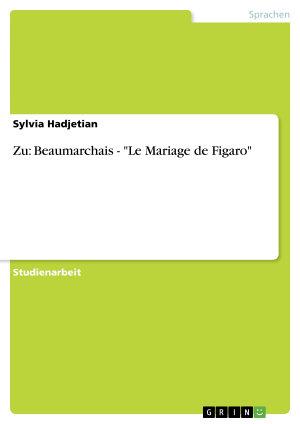 Beaumarchais    Le Mariage de Figaro  PDF
