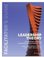 Leadership Theory PDF