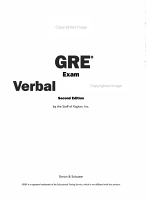 GRE Exam Verbal Workbook PDF