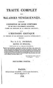 Traite des Maladies Veneriennes