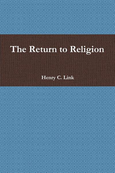 Download The Return to Religion Book