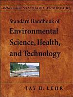 Standard Handbook of Environmental Science  Health  and Technology PDF
