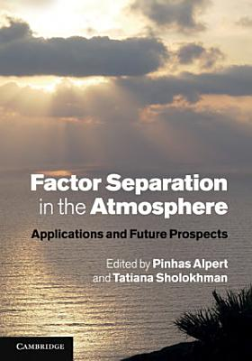 Factor Separation in the Atmosphere PDF
