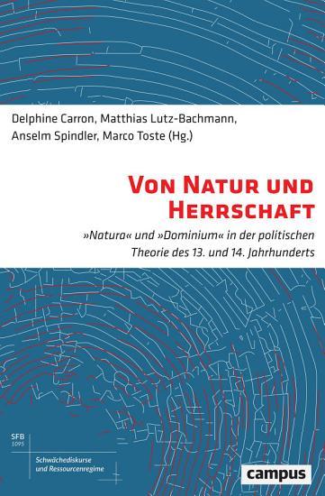 Von Natur und Herrschaft PDF
