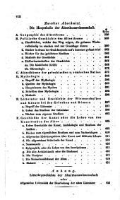 Fr. Aug. Wolfs̕ vorlesung über die encyclopädie der alterthumswissenschaft